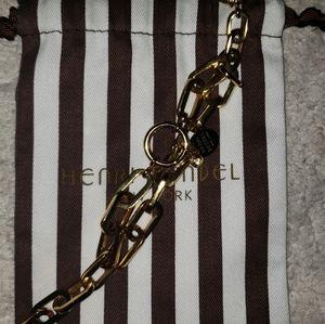 Hebri bendel gold bracelet